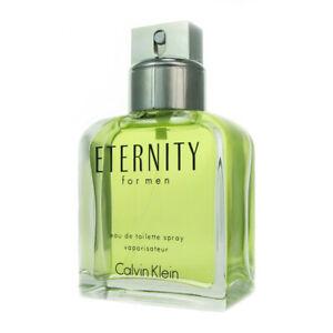 CK Eternity for Men by Calvin Klein 3.4 oz Eau de Toilette Spray Tester