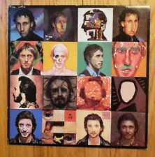 THE WHO Face Dances LP Vinyl (1981) NM w/ POSTER and LYRICS sleeve STERLING**
