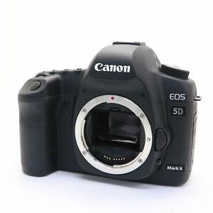 [Near Mint] Canon EOS 5D Mark II 21.1MP Digital Camera Black Low Shutter
