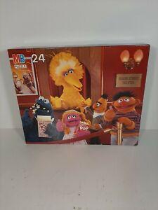 New Sealed 1990 Milton Bradley Sesame Street Theater 24 Piece Puzzle