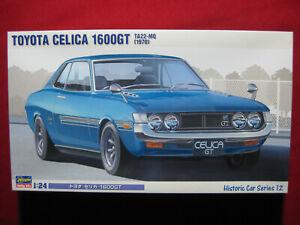 1970 Toyota Celica 1600GT TA22-MQ 1/24 Hasegawa Japan Historic Car Model Kit