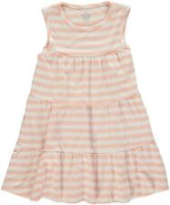 Rockin Baby New With Tags Peach Striped Dress Size 3-4