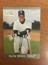 1991 FLEER ULTRA FRANK THOMAS CHICAGO WHITE SOX  BASEBALL CARD  HOF er