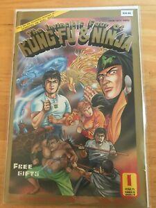 The Invincible Four Of Kung Fu & Ninja 1 -  High Grade Comic Book - B34-46