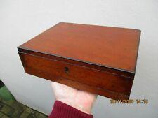 A Victorian Mahogany Artists Painting Box c1880