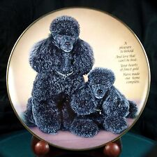 Cherished Poodles - A Pleasure To Behold - Danbury Mint - Excellent Condition