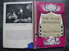 THE GLASS MENAGERIE TENNESSEE WILLIAMS 1ST ED BOOK JOHN LEHMANN 1948