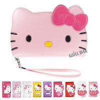 HELLO KITTY Cute Diary Wallet Flip Cover iPhone 6S 6 Plus iPhone SE 5S 5 Case