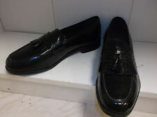 Nunn Bush Manning Dress Flex Kilty Tassel Leather Loafer Shoes Black 13 M NEW