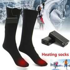 Electric Heated Socks Battery Powered Winter Heat Men Women Thermal Foot Warmer
