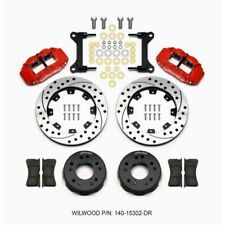 Wilwood 140-15302-DR 4R Front Disc Brake Kit for 1963-1987 GM SUV / Truck