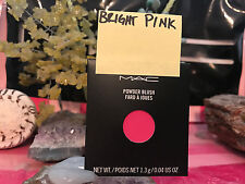 MAC Eye Shadow REFILL - BRIGHT PINK -  NIB authentic pro pan FROM MAC STORE