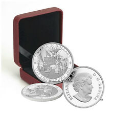 2013 Canada $20  300Th Anniversary Of Louisbourg Pure Silver Exempt Tax