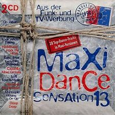 Maxi Dance Sensation 13 (1994) Urban Cookie Collective, Masterboy, Jam .. [2 CD]