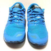 Nike Free 5.0 Womens Athletic Running Training Shoes Blue Black Size 8.5 Us