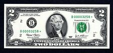 $2 2003 Star B00003258* Low Number! Uncirculated