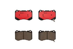 Front Disc Brake Pad Set Ceramic Brembo Slotted For Acura TL Base Type-S 04-08