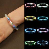 Moonstone Quartz Healing Beaded Bracelets Stone Stretchy Bracelets Jewelry Gift