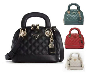 Cessily PU Leather Small Shell Tote Satchel Crossbody Bags NWT EV767911