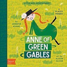 NEW Title!! Anne of Green Gables by Jennifer Adams (2017, Board Book)