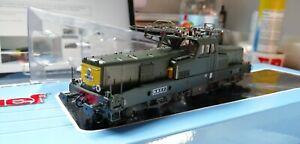 Jouef HJ2339S DCC SOUND HO Gauge SNCF BB12026 Electric Locomotive Yellow end