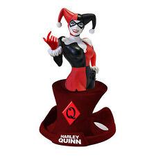 Harley Quinn Resin Paperweight Bust Dc Comics Nib