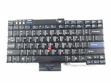 GENUINE for IBM Thinkpad T61 R60 R61e Z60 Z61 P/N 42T3109 42T3143 Keyboard USED