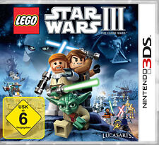 Lego Star Wars III: The Clone Wars - Nintendo 3DS (NEU & OVP!)