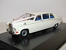 OXFORD DIECAST DAIMLER DS420 WEDDING CAR WHITE 1/43 DS001W BOX REPAIRED