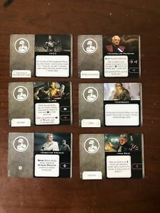 X-Wing Miniatures 2.0 2nd Edition- Crew Upgrade Cards