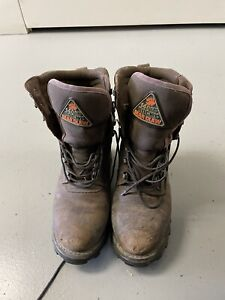 1400 Rocky Bear Claw Boots Mens Size 11 9456 Good Condition Gore Tex