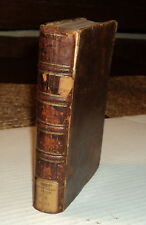 Vintage 1742 ISAAC WATTS -  PHILOSOPHICAL ESSAYS ON VARIOUS SUBJECTS - Leather