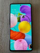 Samsung Galaxy A51 SM-A515U - 128GB - Prism Crush Black (Unlocked) Clean ESN