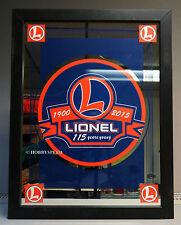 LIONEL 115th ANNIVERSARY FRAMED ART MIRROR trains home decor UNCATALOGED 9-42033
