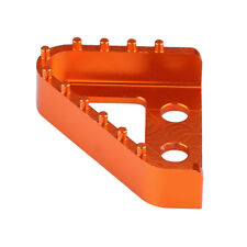 CNC Rear Brake Pedal Step Plate Tip Orange for KTM RC125/200/390 DUKE 690/990