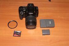 Canon Rebel XTi Digital Camera with EF-S 18-55mm f/3.5-5.6 II Lens - Black