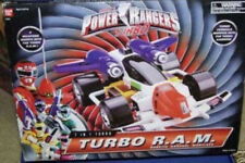 Power Rangers Turbo R.A.M. Robotic Arsenal Mobilizer 7 Weapons Morph To RAM MIB
