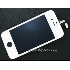 White Verizon iPhone 4 LCD Retina Display Touch Screen Digitizer Panel Assembly