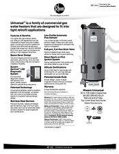 RHEEM 100 GALLON HOT WATER HEATER 199,900 BTU COMMERCIAL G100-200 ng TANK
