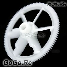 2 Pcs 450 Tail Drive Gear for Align Trex T-rex Helicopter White (LHS1220-WH)