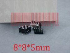 2pc 8*8*5mm Heatsink, 8x8x5mm Aluminum Heat-Sink, Heat Sink for Power Transistor