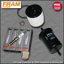 SERVICE KIT PEUGEOT 207 1.6 16V GTI THP 175 FRAM OIL FUEL FILTER PLUG (2006-2012