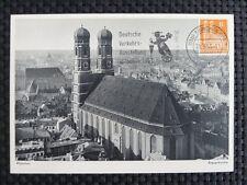 BIZONE BAUTEN MK 1953 77 eg MÜNCHEN KIRCHE MAXIMUMKARTE MAXIMUM CARD MC CM a8924