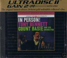 Bennett, Tony & C. Basie In Person MFSL Gold CD Neu OV