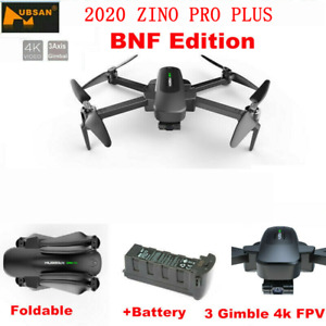 Hubsan Zino PRO+ 5G Wifi APP Drone FPV Quadcopter Brushles 3Gimbal+Battery,BNF