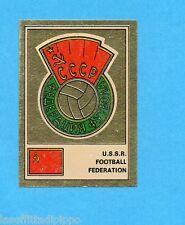 FOOTBALL CLUBS-PANINI 1975-Figurina n.264- URSS-CCCP -SCUDETTO/BADGE-Rec