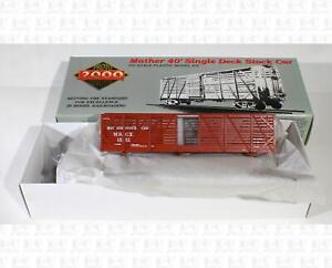 Proto 2000 HO 40' Stock Car Mather Stock Car Co 1561 Kit