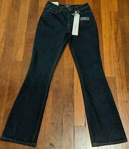 NWT It's Denim LONG TALL SALLY Women's Slim Bootcut Dark Indigo Jeans US10 UK14