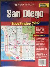 Rand McNally San Diego EasyFinder Plus Laminated Map