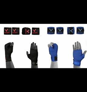 Boxing Muay Thai Hand Wraps Elastic Wrist Bandages Fist Inner Gloves MMA,UFC
